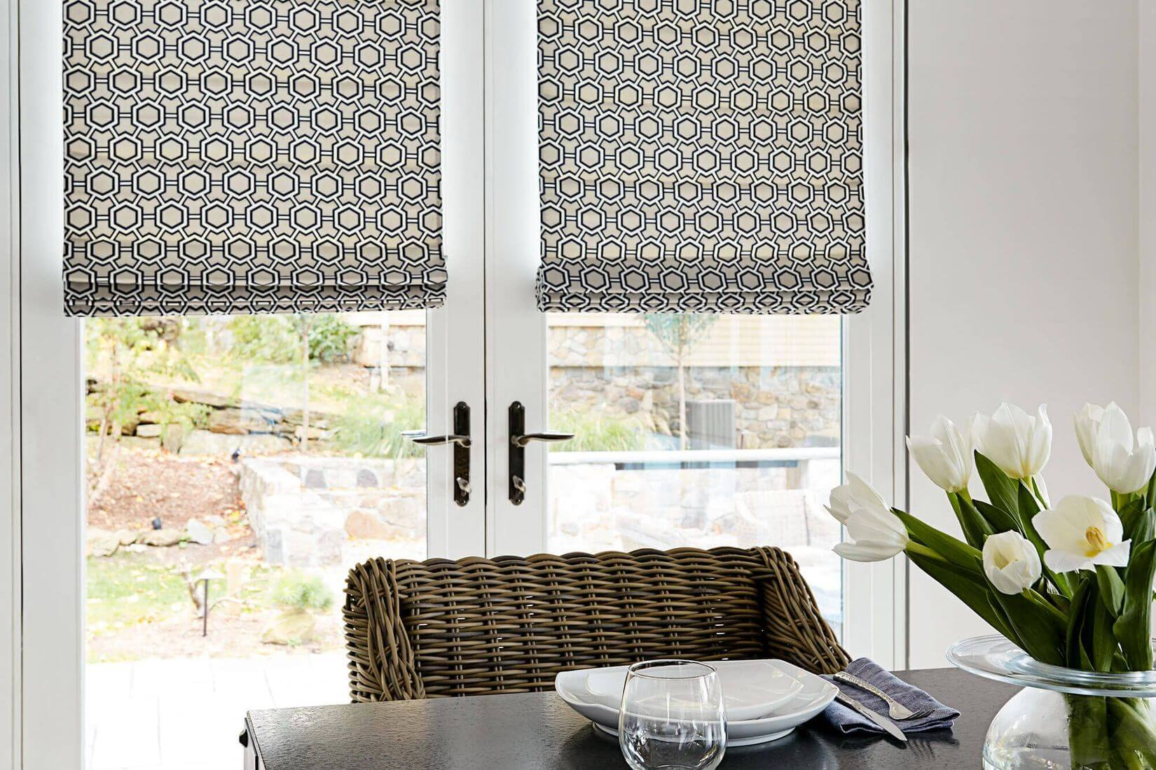 Roman Blinds Sara Bella